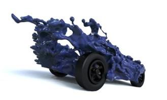 Thomas Davis - Liquid Pinewood Derby Car