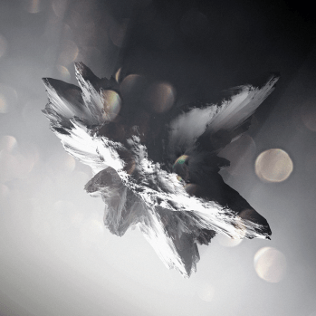 Crystallized Asteroïds - digital art by Chaotic Atmospheres