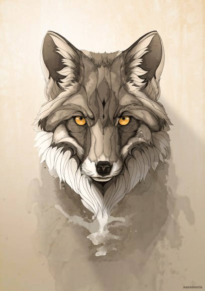 Rafapasta Red Fox wild animal