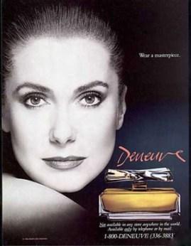 Catherine Deneuve's signature perfume, Deneuve