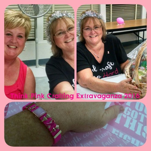 My friends Debi and Bernie at Think Pink