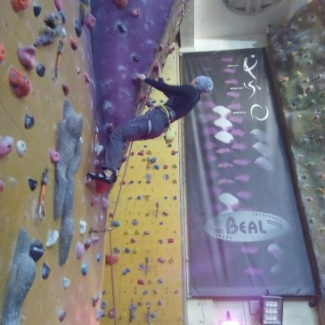 Climbing walls in the New Year