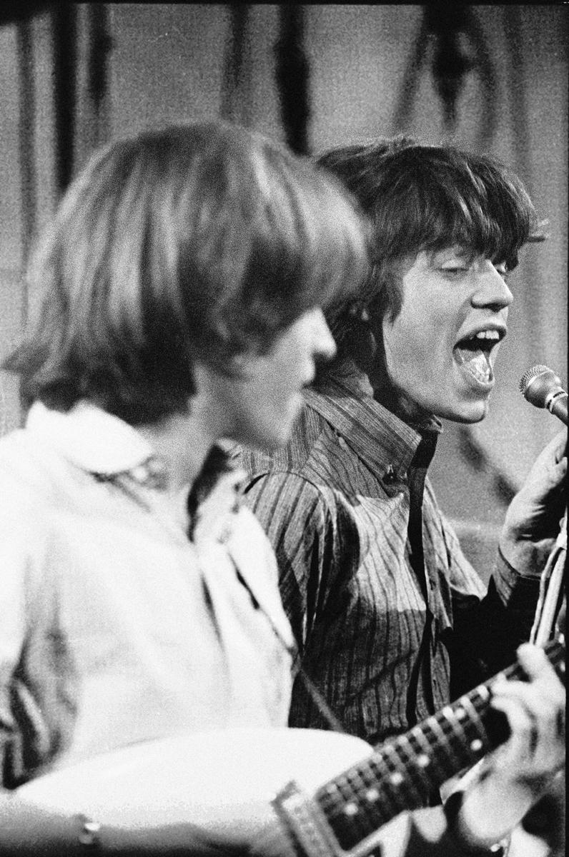 Mick Jagger & Brian Jones RSG 1