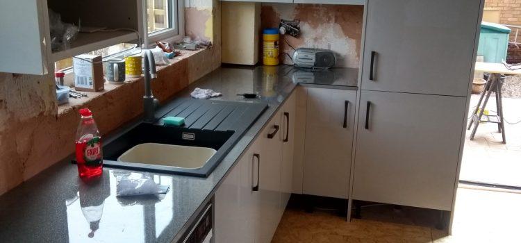 WREN Kitchen with Quartz Composite Sink