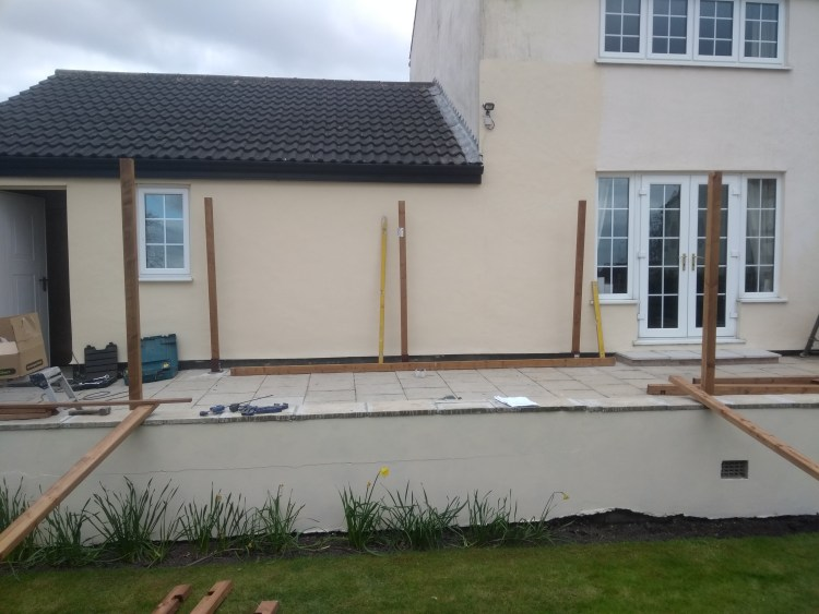 Pergola installed by CL Joinery