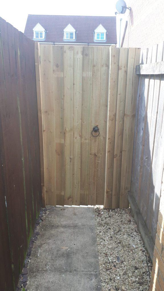External Gate, New External Gate Installation   CL Joinery Yorkshire, CL Joinery   Yorkshire
