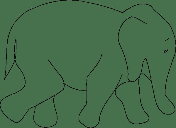 Elephant Clip Art At Clker.com