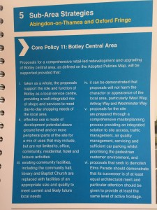 Doric's policy for Botley