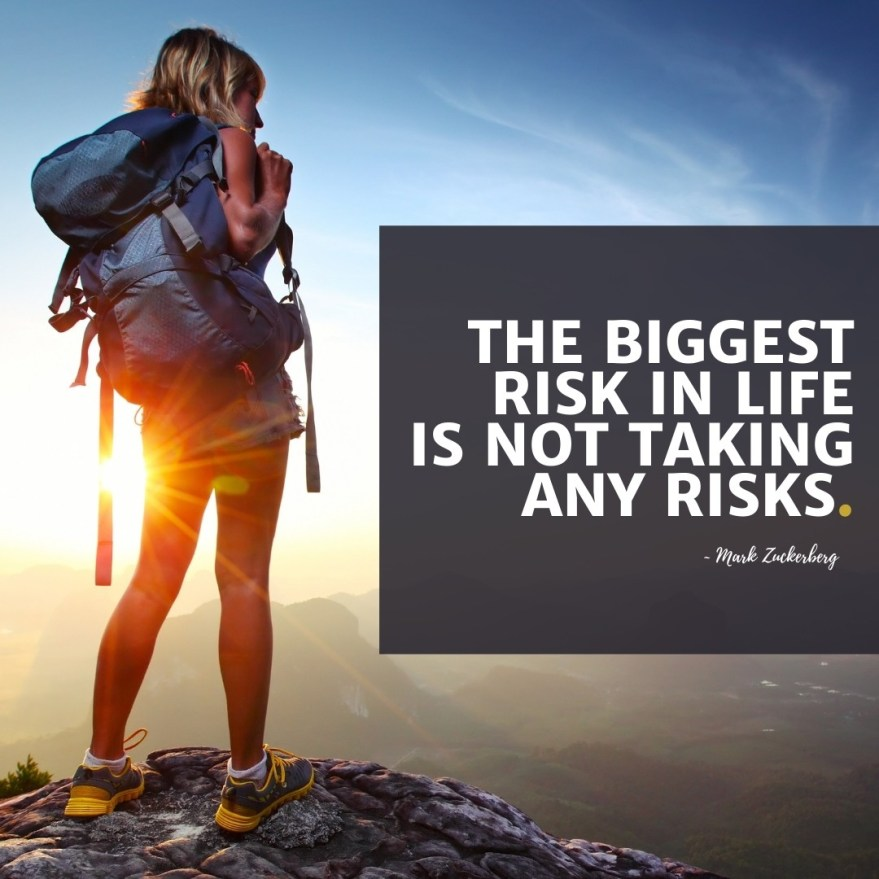 Mark Zuckerberg Biggest Risk Is Not Taking Any Motivational Quote