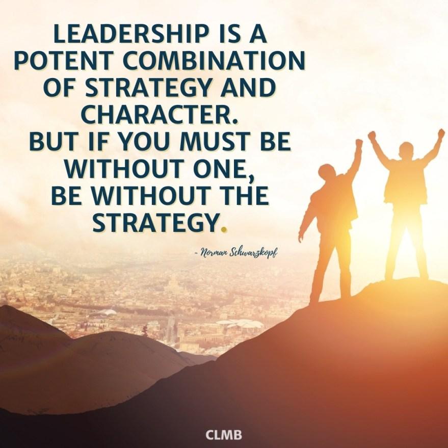 Norman Schwarzkopf Leadership Quote