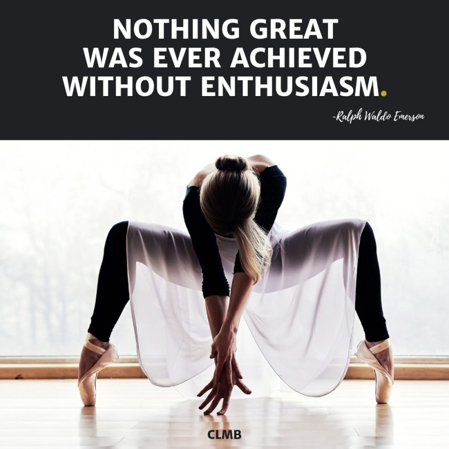 Ralph Waldo Emerson Enthusiasm Quote
