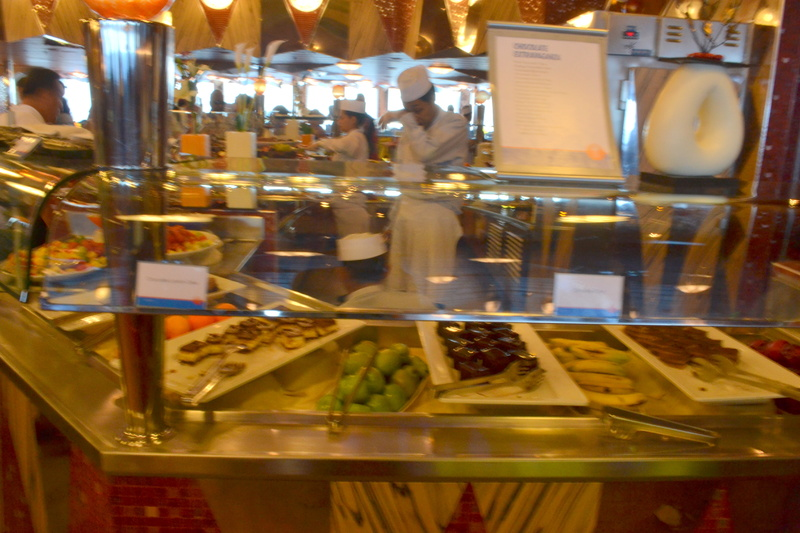 Photo Of Carnival Dream Cruise On The Gathering Buffet
