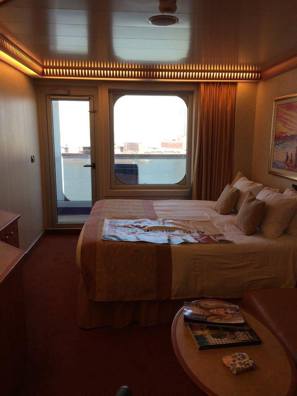 Balcony Cabin 9294 On Carnival Freedom Category 8E