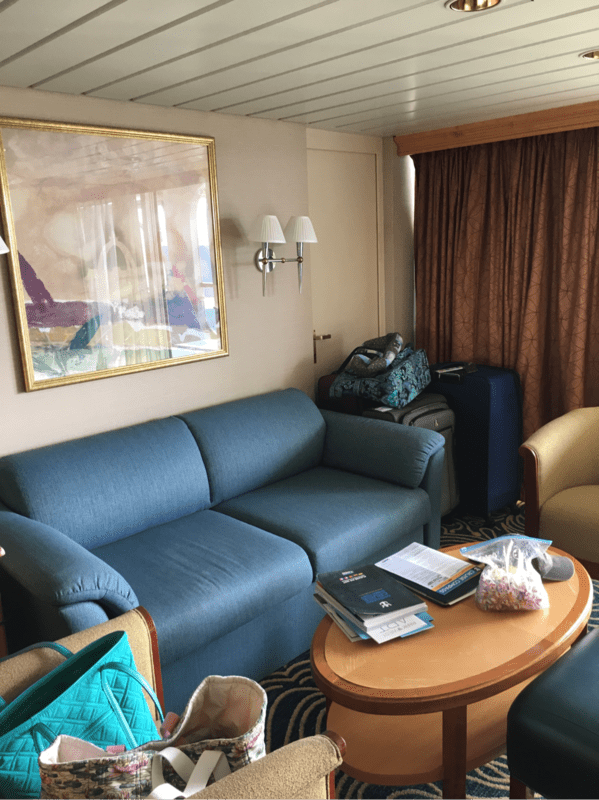 Grand Suite With Balcony Cabin Category GR Grandeur Of