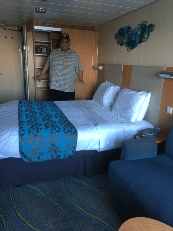 Balcony Cabin 7276 On Allure Of The Seas Category D4