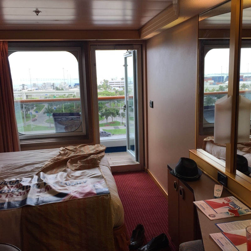 Balcony Cabin 6447 On Carnival Victory Category 8A