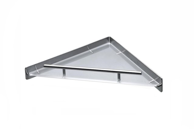 CL-231 Cool Line Corner Shelf | Cloakroom Solutions