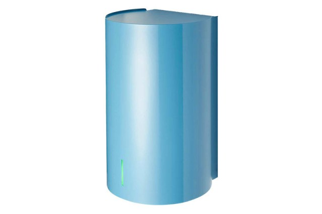 BJÖRK hand dryer - blue | Cloakroom Solutions