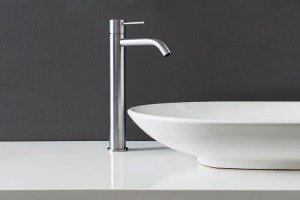 Fasson 40 mm One-lever basin mixer, 340 mm   Cloakroom Solutions