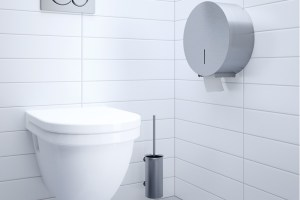CONTI+ Jumbo Toilet Roll Holder | Cloakroom Solutions