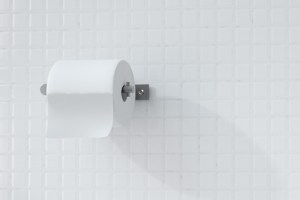 CONTI+ Toilet Roll Holder | Cloakroom Solutions