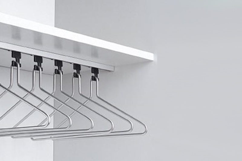 R.8235 Wardrobe Rail | Cloakroom Solutions