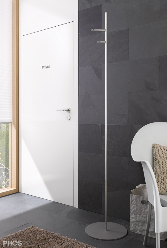 Phos Straight 2V Coat Stand | Cloakroom Solutions