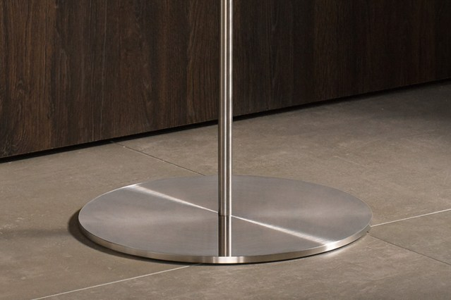 PHOS Stainless Steel Coat Stand Base   Cloakroom Solutions