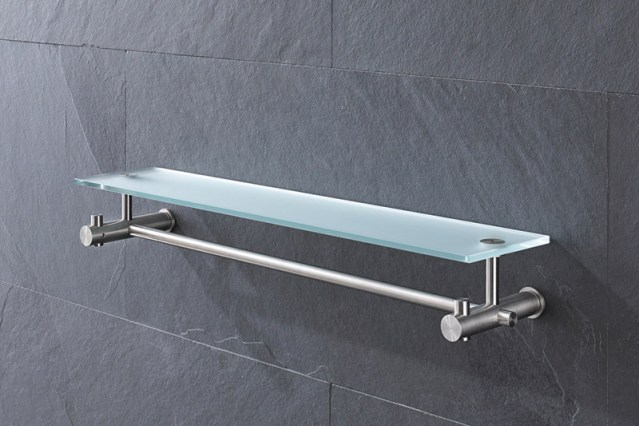 PHOS G9-500G Shelf & Towel Rail | Cloakroom Solutions