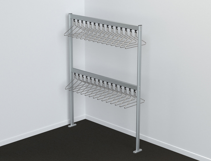 Free Standing Coat Rails | Cloakroom Solutions