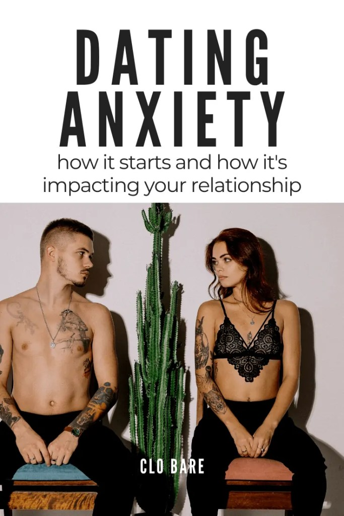 two people talking about dating anxiety