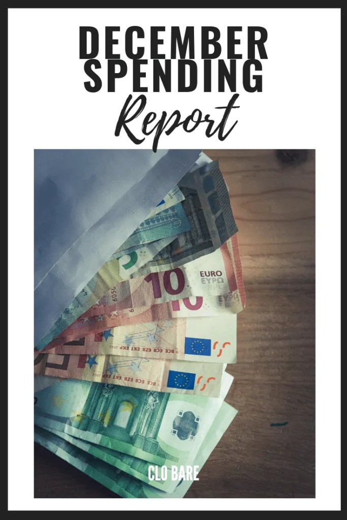December Spending Report: Euros