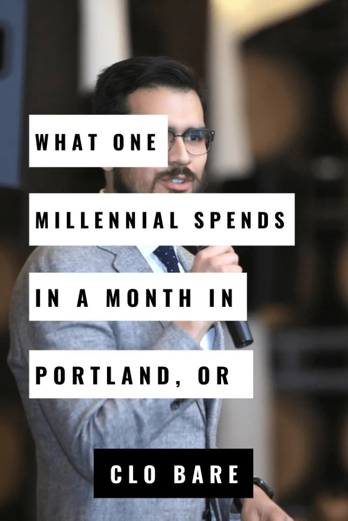 What One Millennial Spends a Month in Portland