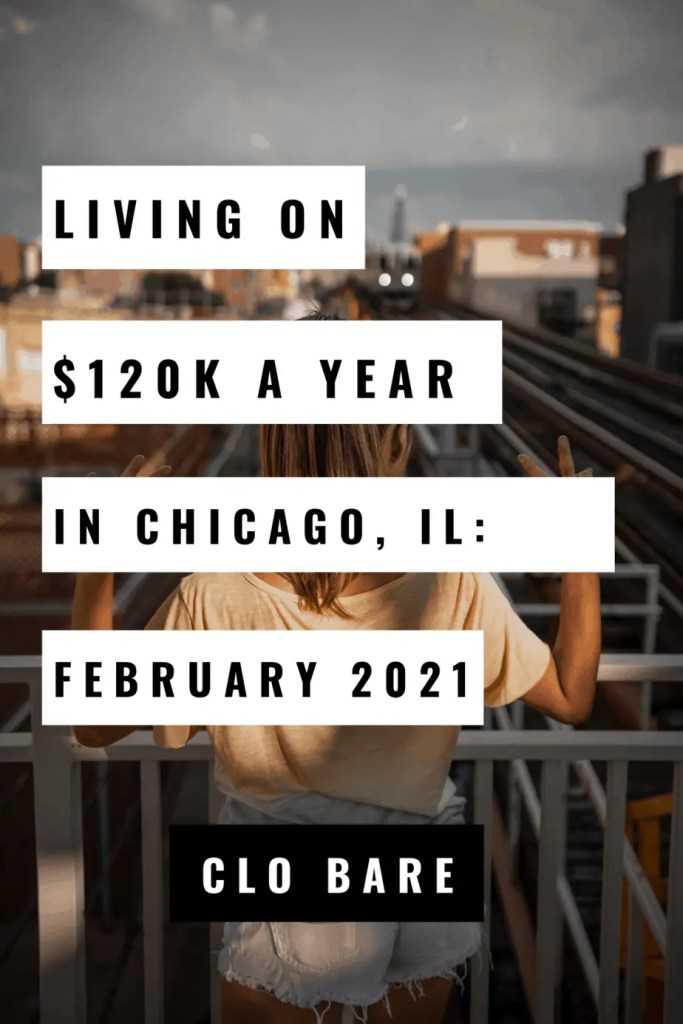 living on $120k a year in chicago