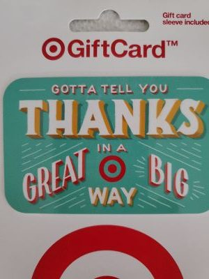 Target gift card for Christmas in July giveaway