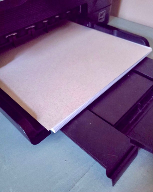 Paper for images for getting images printed on the paper