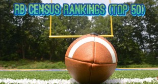RB Census Rankings