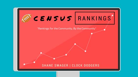 fantasy football census rankings