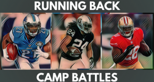 running back camp battles