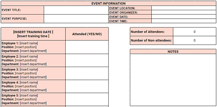 19/02/2021· this networking tracker template will keep all your contacts organized and help you plan when it's time to touch base with them. Employee Attendance Tracker Excel Templates Clockify
