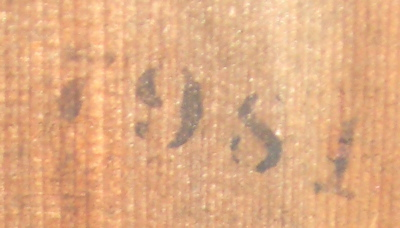 Date stamp on back