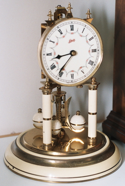 Schatz 400 Day Clock with Roman Numerals