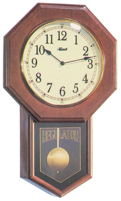 An excellent sounding quartz wall clock, Hermle model 70687-N92215.