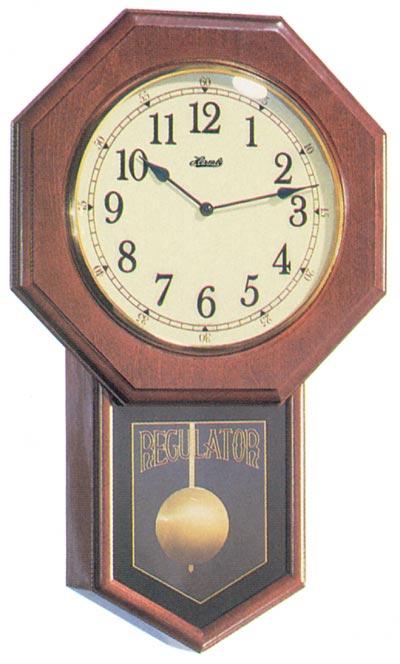 An excellent sounding quartz wall clock, Hermle model 70687-N92215.