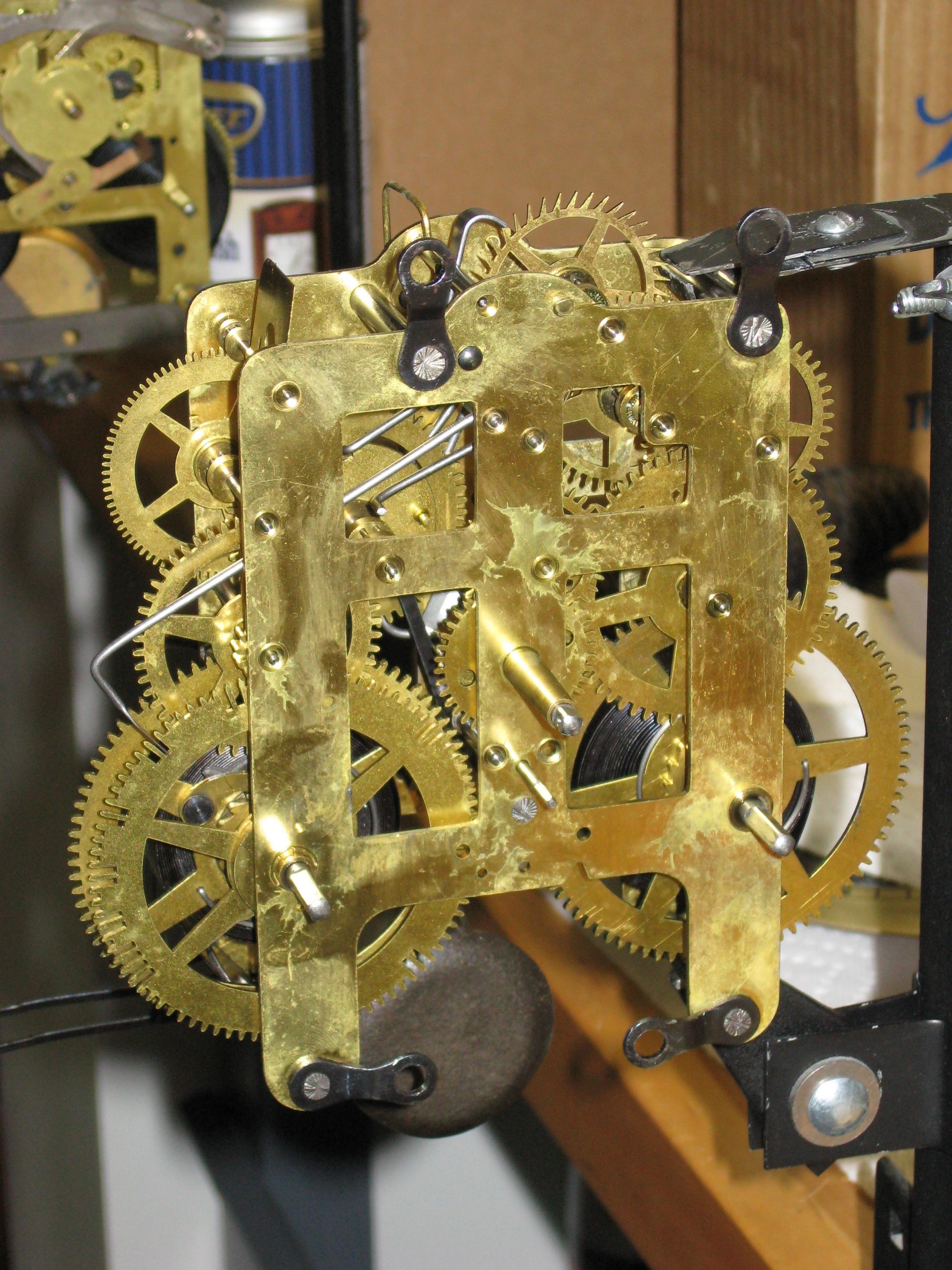 Two Seth Thomas Plymouth Tambour Mantel Clocks 1938 And