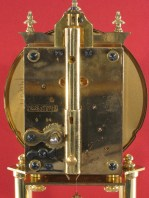 Schatz standard movement. Horolovar back plate no. 1014A. Date code 9 54 (September 1954).