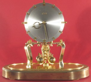 Kundo Oval 400 Day Clock, 1950s