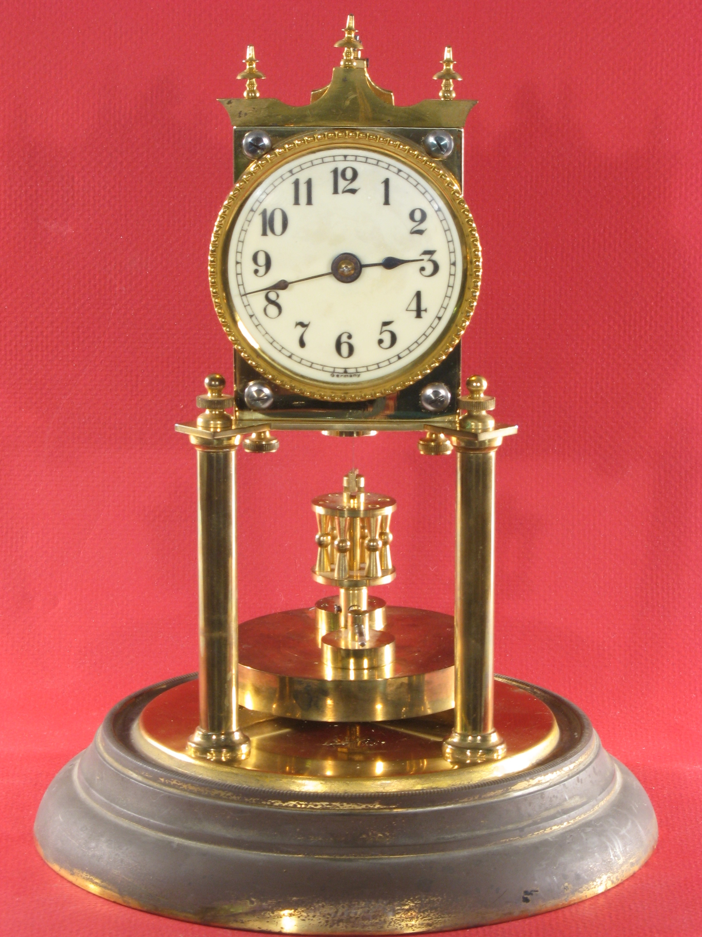Jahresuhrenfabrik Disc Pendulum 400 Day Clock Ca