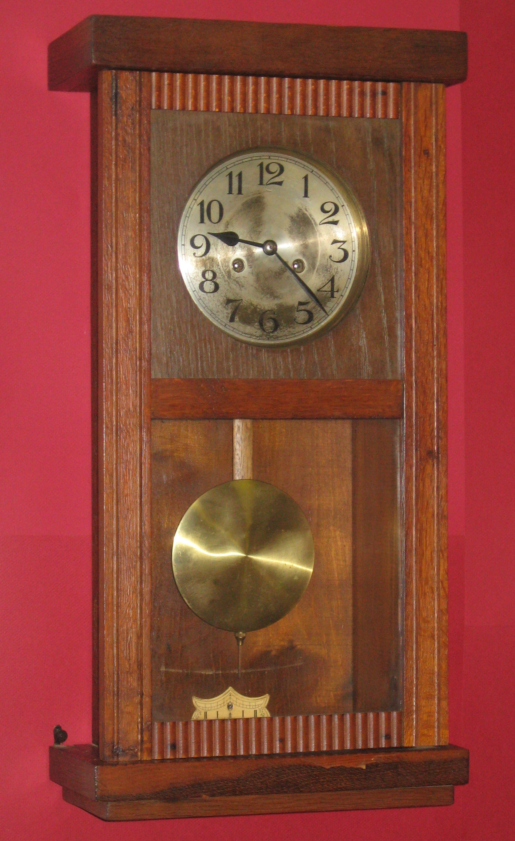 German Wall Box Clock Clockinfo Com