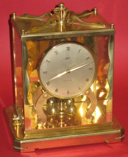 Schatz 1000 Day Clock Dated 10 56 (October 1956)